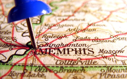 Memphis Map