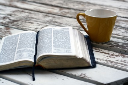 mug and bible
